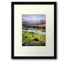 akwarelka 102 Framed Print