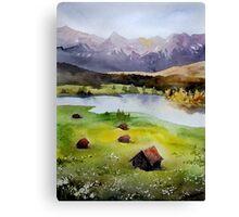 akwarelka 102 Canvas Print