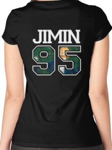 BTS - Jimin 95 Women's Fitted Scoop T-Shirt