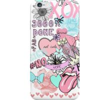 Bubblegum Collage  iPhone Case/Skin
