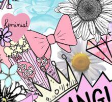 Bubblegum Collage  Sticker
