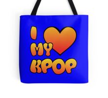 I LOVE MY KPOP - BLUE Tote Bag