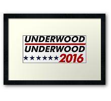 Underwood Framed Print