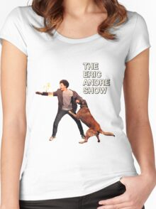 The Eric Andre Show Women's Fitted Scoop T-Shirt