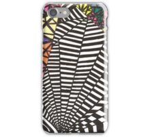 Black and White with a Bit 'O Color iPhone Case/Skin