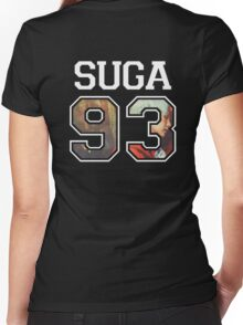 BTS - Suga 93 Women's Fitted V-Neck T-Shirt