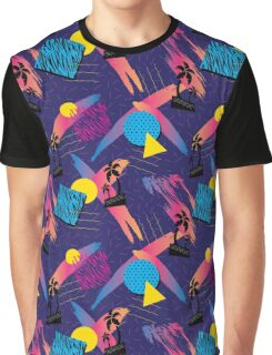 90's pattern Graphic T-Shirt