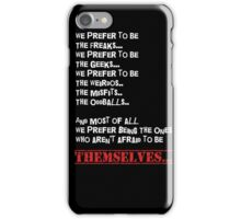 The Proud Loners iPhone Case/Skin