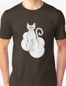 Cat with Red Eyes Unisex T-Shirt