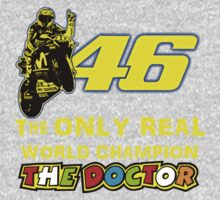 Valentino Rossi 46: The only real 2015 World Champion MotoGp One Piece - Long Sleeve