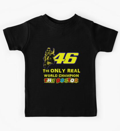Valentino Rossi 46: The only real 2015 World Champion MotoGp Kids Tee