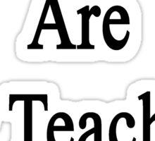 My Mondays Are For Teaching Statistics  Sticker