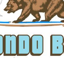 Redondo Beach - California. Sticker