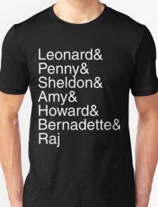 The Big Bang Theory - Names T-Shirt