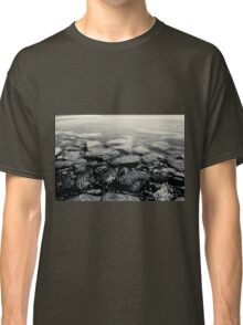 Stones in the water (black) Classic T-Shirt