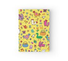 Spring Chicks & Bunnies - Yellow Hardcover Journal