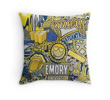 Emory Collage Throw Pillow