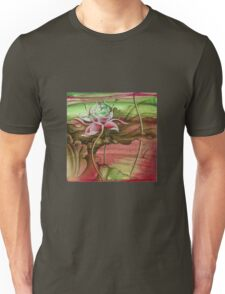 """""""Here Begins The Journey Towards Sky"""" from the series """"In the Lotus Garden"""" Unisex T-Shirt"""
