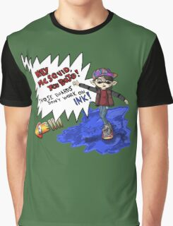 Marty McSquid Graphic T-Shirt