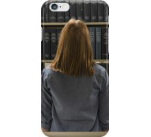 Looking for Books iPhone Case/Skin