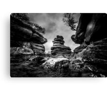 Rocks and Boulders Canvas Print