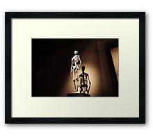human anatomy Framed Print