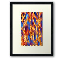 Torched Framed Print