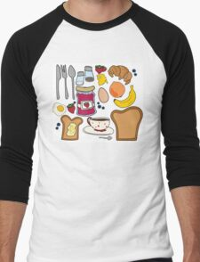 Breakfast Package Men's Baseball ¾ T-Shirt