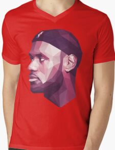 Le Bron James Mens V-Neck T-Shirt