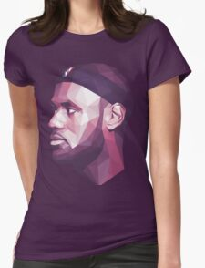 Le Bron James Womens Fitted T-Shirt