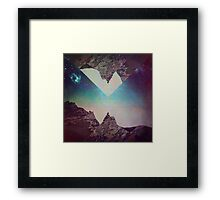 Sneak A Picture. Framed Print