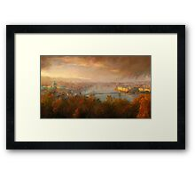 View of Budapest Framed Print