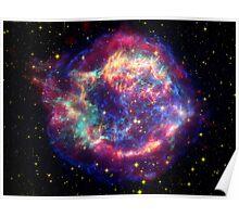 Space Nebula Poster