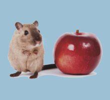 Teacher's Pet - Cute Mouse - T-Shirt Sticker Kids Tee