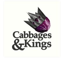 Cabbages & Kings Podcast Art Print
