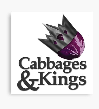 Cabbages & Kings Podcast Canvas Print