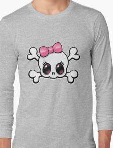 Cute Skull Long Sleeve T-Shirt