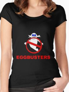 Eggman Busters Women's Fitted Scoop T-Shirt