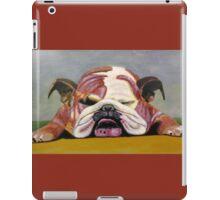 Sleeping Bulldog iPad Case/Skin
