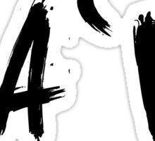 Na`vi (Navi, Natus Vincere) Black Sticker