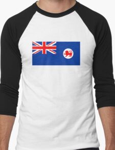 Flag of Tasmania Men's Baseball ¾ T-Shirt