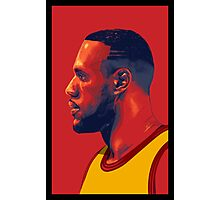 Le Bron James Photographic Print