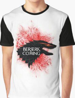 Berserk is Coming Blood Splatter Graphic T-Shirt