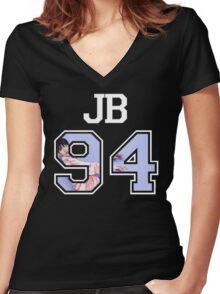 GOT7 - JB 94 Women's Fitted V-Neck T-Shirt