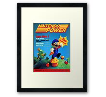 Nintendo Power - July/August 1988 Framed Print