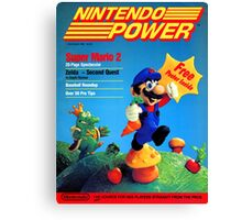 Nintendo Power - July/August 1988 Canvas Print
