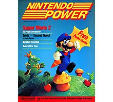 Nintendo Power - July/August 1988 Photographic Print