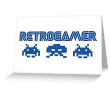 Retro gamer Greeting Card