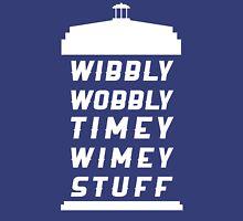Wibbly Wobbly Timey Wimey Stuff Unisex T-Shirt