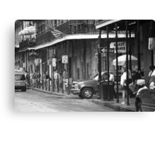 New Orleans Street Photography 2 Canvas Print